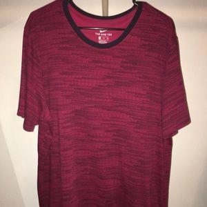 Deep red, Dri-fit Nike T-shirt